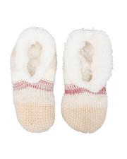Accessories - Lounge Faux Fur Lined Slipper Socks-2444029