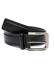 Belts - Adjustable Leather Belt (32-44)-2449131