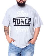 Big & Tall - S/S Stay Humble Hustle Hard Tee (B&T)-2451515