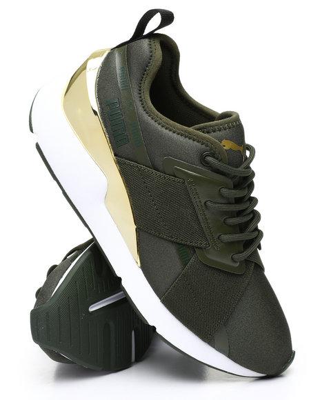 Puma - Muse X-2 Metallic Sneakers