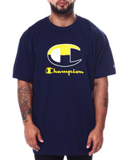 Champion - S/S Large C Tee (B&T)-2452735