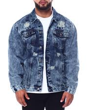 Outerwear - Denim Rip + Repair Jacket (B&T)-2451463