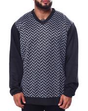 Big & Tall - Jacquard Sweaters (B&T)-2452840