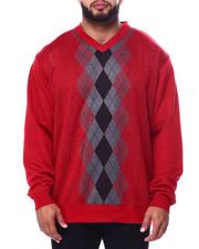 Big & Tall - Jacquard Sweaters (B&T)-2452854