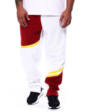 Joggers - Color Block Fleece Pants (B&T)-2452812