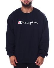 Champion - L/S Fleece Crew (B&T)-2452939