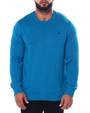 Sweatshirts & Sweaters - CREWNECK LONG SLEEVE Cotton SWEATER-2452750