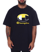 Champion - S/S Large C Tee (B&T)-2452759