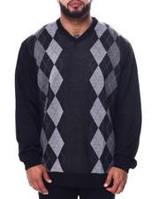 Big & Tall - Jacquard Sweaters (B&T)-2452793
