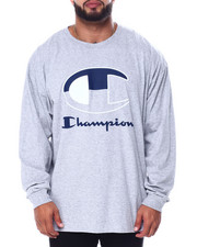 Champion - L/S Large C Tee (B&T)-2452781
