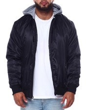 Phat Farm - Filled Bomber W/Fleece Hood (B&T)-2452982