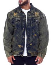 Big & Tall - Denim Rip + Repair Jacket (B&T)-2451426