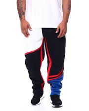 Big & Tall - Color Block Fleece Pants (B&T)-2452850