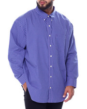 Button-downs - L/S Premium Essentials Gingham Woven (B&T)-2451474