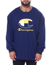 Champion - L/S Large C Tee (B&T)-2452746