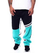 Sweatpants - Color Block Fleece Pants (B&T)-2452875