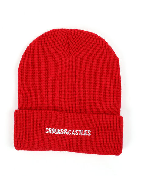 Crooks & Castles - New Core Beanie