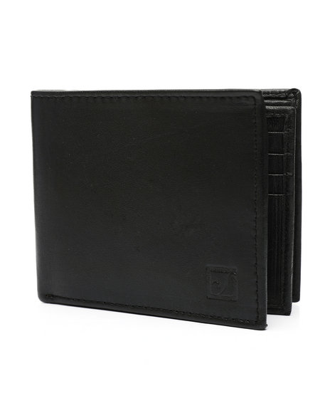 Buyers Picks - Leather Center Flip Bifold Wallet