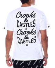 Crooks & Castles - REVERSE CORE TEE FRONT-2452720