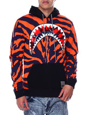 Hudson NYC - Shark Mouth Tiger Hoody-2453535