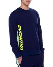Sweatshirts & Sweaters - Contrast Side Zip Crewneck-2453504
