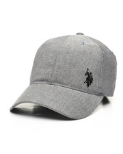 Dad Hats - US Polo ASSN Heather Dad Hat-2447411
