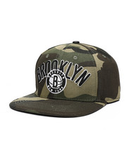 NBA, MLB, NFL Gear - Brooklyn Nets Wordmark Logo Hat-2448324