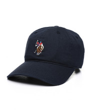 Dad Hats - US Polo ASSN Washed Dad Hat-2447448