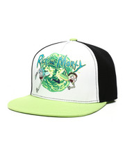 Hats - Rick & Morty 5-Panel Snapback Hat-2447926