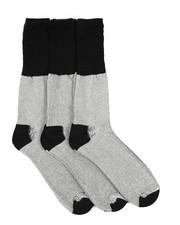 DRJ SOCK SHOP - 3PK Marled H&T Boot Socks-2453835