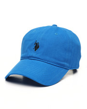 Dad Hats - US Polo ASSN Washed Twill Dad Hat-2447549