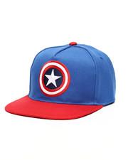 Hats - Captain America Shield Snapback Hat-2446692