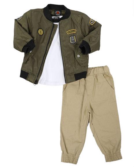 Enyce - 3 Pc Jacket Set (2T-4T)