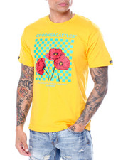 Crooks & Castles - Poppy Checkered Tee-2453921