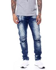 Buyers Picks - Splatter Seamed Thigh Moto Jean-2454778