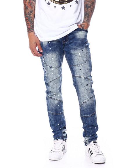 Buyers Picks - Cut and Sew Jean w Paint Splatter