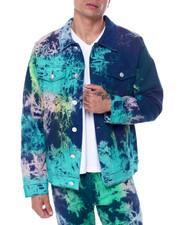 Buyers Picks - Blue Tie Dye Denim Jacket-2454828