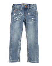 Girls - Pearl & Diamonds Jeans (4-6X)-2453323