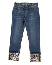 Jeans - Wild Life Leopard Jeans (7-16)-2453344