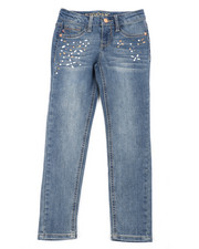 Girls - Pearl & Diamonds Jeans (7-16)-2453328