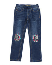 Girls - Gemini Unicorn Jeans (4-6X)-2453010