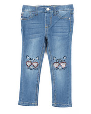 Girls - Fashion Ankle Kitty Of Love Jeans (2T-4T)-2453303