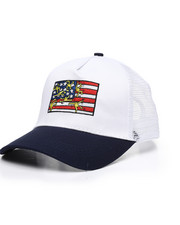 Keith Haring - Flag Snapback Hat-2453740