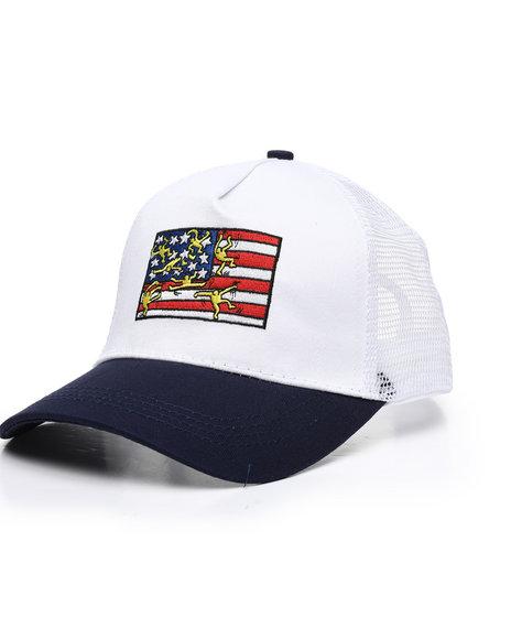 Keith Haring - Flag Snapback Hat