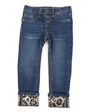 Jeans - Wild Life Leopard Jeans (4-6X)-2453334