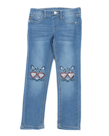 Vigoss Jeans - Fashion Ankle Kitty Of Love Jeans (4-6X)