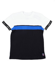 Tops - S/S Color Block W/Phat Farm Tape On Sleeve Tee (8-20)-2454868