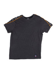 Tops - S/S Tee W/Side Poly Tape (8-20)-2454878