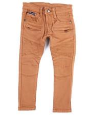 Boys - Stretch Moto Twill W/Zippers (2T-4T)-2454958