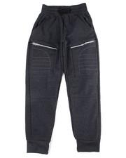 Arcade Styles - Cut & Sew Moto Fleece Jogger (8-20)-2455140